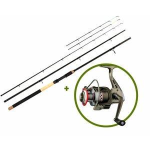 Giants Fishing Prut Radiant MX Feeder 10ft 50-100g + naviják SPX 3000 AKCE!
