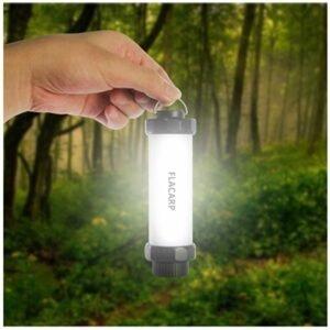 Flacarp Bivakové RGB Led světlo s přijímačem