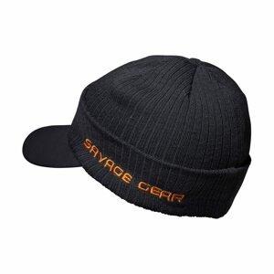 Savage Gear Čepice Peak Beanie One Size Rock Grey