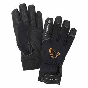 Savage Gear Rukavice All Weather Glove Black M