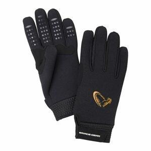 Savage Gear Rukavice Neoprene Stretch Glove Black M