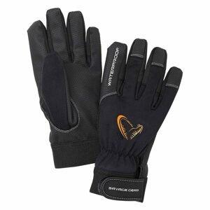Savage Gear Rukavice All Weather Glove Black - M