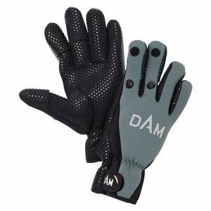 DAM Neoprénové rukavice Neoprene Fighter Glove Black/Grey - M