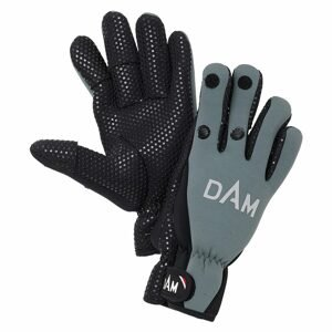 DAM Neoprénové rukavice Neoprene Fighter Glove Black/Grey - XL