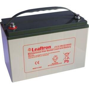 Leaftron Olověný akumulátor 12V 100Ah pro elektromotory