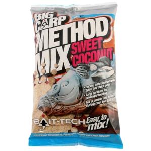 Bait-Tech Krmítková směs Big Carp Sladký Kokos Method mix 2kg