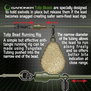 Gardner Zarážky COVERT TULIP BEADS - zelené