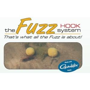 Strategy Kamuflážový háček s oválným kroužkem The Fuzz D-Hook 5ks - vel. 8 Weed
