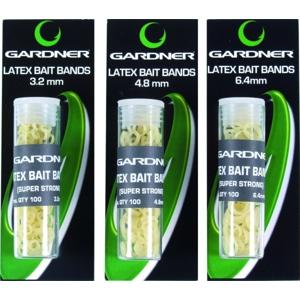 Gardner Silikonové kroužky Latex Bands 100ks - 4,8mm