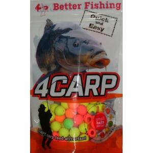 4Carp Fluoro pop up boilies 30g - Crab 8mm