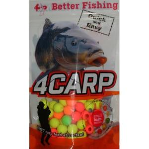 4Carp Fluoro pop up boilies 30g - Ananas 8mm