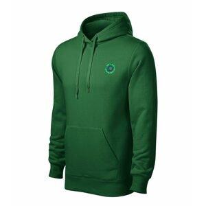 Chyť a pusť Mikina Hooded sweater zelená - vel. XL