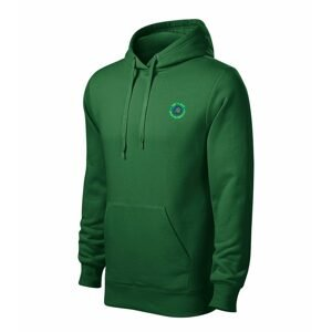 Chyť a pusť Mikina Hooded sweater zelená - vel. XXL