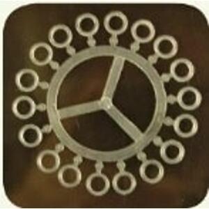 Extra Carp Silikonové kroužky na nástrahy Elastic Bands 5,5mm 18ks