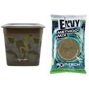 Bait-Tech Camo Bucket Envy Hemp & Halibut Method Mix 3kg