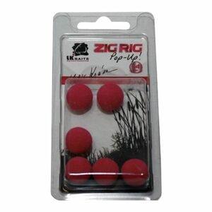 LK Baits ZIG RIG Pop–Up - 14 mm - Red