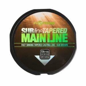 Korda Ujímaný vlasec Subline Tapered Mainline 0,30-0,50mm brown 300m