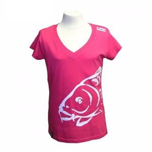 R-Spekt Tričko Lady Carper růžové - vel. L