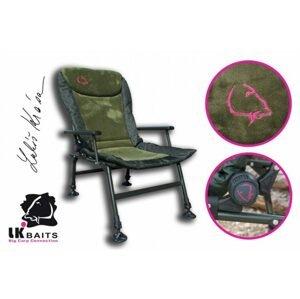 LK Baits Křeslo Camo Arm Chair
