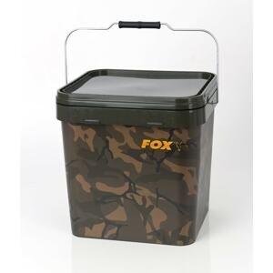Fox Kbelík plastový Camo Square Bucket 17l