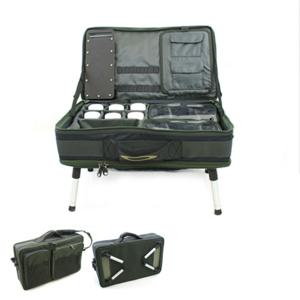 NGT Stolek s Kufrem Carp Bivvy Table System