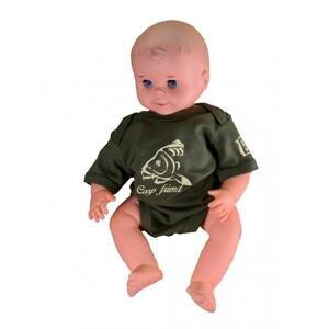 R-spekt Baby body Carp Friend khaki - 6-12 měsíců