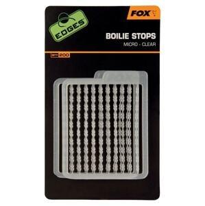 Fox Zarážky na nástrahy Edges Boilie Stops - Micro