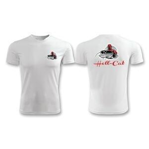 Hell-Cat Tričko bílé - vel. L