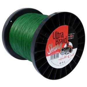 Hell-Cat Šňůra Ultra Braid Strong 1m - 0,33mm, 18,2kg