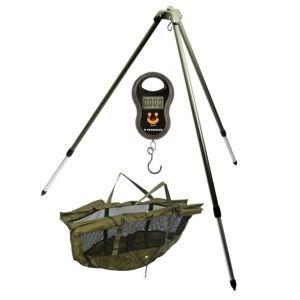 Giants Fishing Stojan na vážení Weigh Tripod + vážící sak + váha ZDARMA!