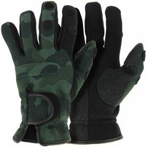 NGT Neoprénové Rukavice Camo Gloves - L