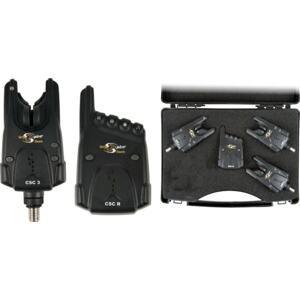 Carp spirit Sada 3 hlásičů CSC 3 + Přijímač CSC R + Kufřík 3+1