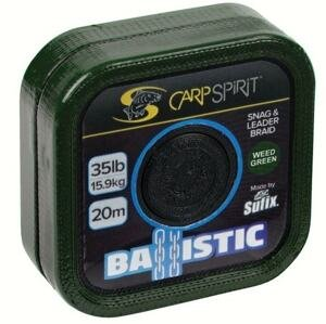 Carp Spirit Šňůra Ballistic Camo Green 20m - 45lb