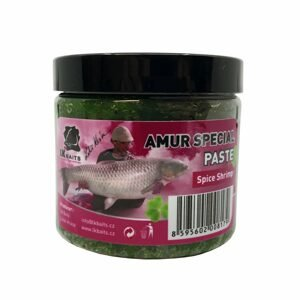 LK Baits Boilie Paste 200ml - Euro Economic - Amur special Spice Shrimp