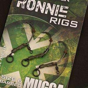 Gardner Montáž Ronnie Rig 3 ks/bal. s protihrotem - vel. 4