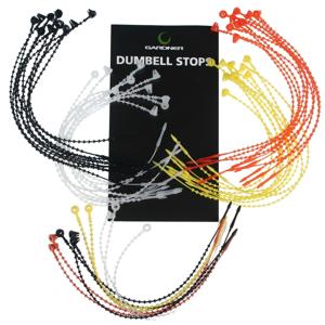 Gardner Zarážky Dumbell Stop 10ks - Clear (čiré)