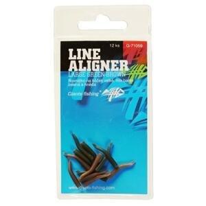 Giants Fishing Rovnátka na háček Line Aligner Green-Brown 12ks - Large