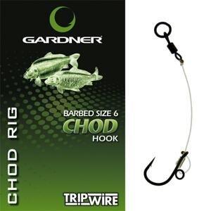 Gardner Kompletní návazec Gardner Chod Rig - vel. 6