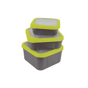 Matrix Box Bait Boxes Grey/Lime - velká 3,3pt