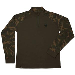 Fox Triko Chunk Camo/dark khaki edition L/S T-shirt - M