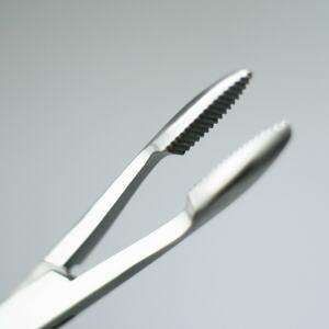 Chyť a pusť Pean - rovný 16cm (s očkem)