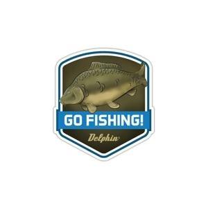 Delphin Nálepka GO FISHING!