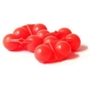 Hell-Cat Chrastítko Scream Balls 5ks - Red