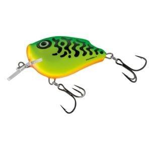Salmo Wobler SquareBill Floating Green Tiger - 5cm 14g