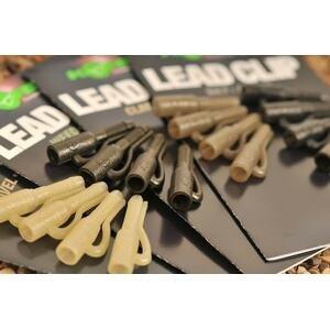 Korda Klipy na olovo Lead Clip 10ks - Clay