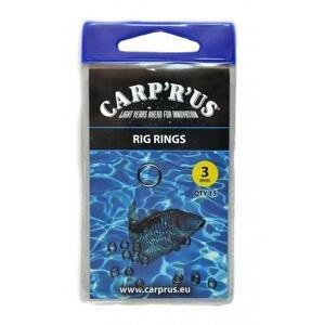 Carp ´R´ Us Kroužky na návazce Rig Rings 3mm 15ks