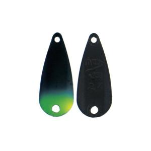 River2Sea Wolframová plandavka TT-Spoon Black/Yellow Tip - 3,2g 2,2cm