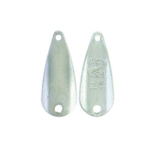 River2Sea Wolframová plandavka TT-Spoon Silver - 2,4g 2,2cm