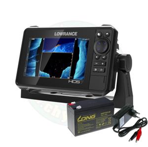 Lowrance Echolot HDS LIVE 7 se sondou Active Imaging 3v1 + baterie + nabíječka ZDARMA