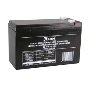 Emos Olověný nabíjecí akumulátor 12V / 9Ah faston 6,3mm